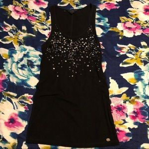 NWOT Guess Studded Racerback Tank Top